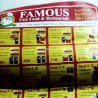 Famous Fast Food, islamabad